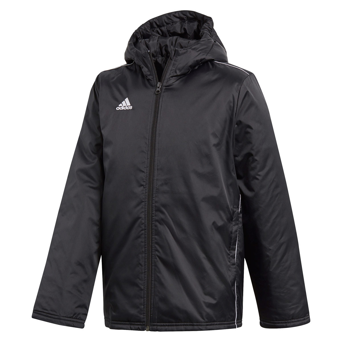 adidas Core 18 Stadium Jacke - Laufjacken - Schwarz