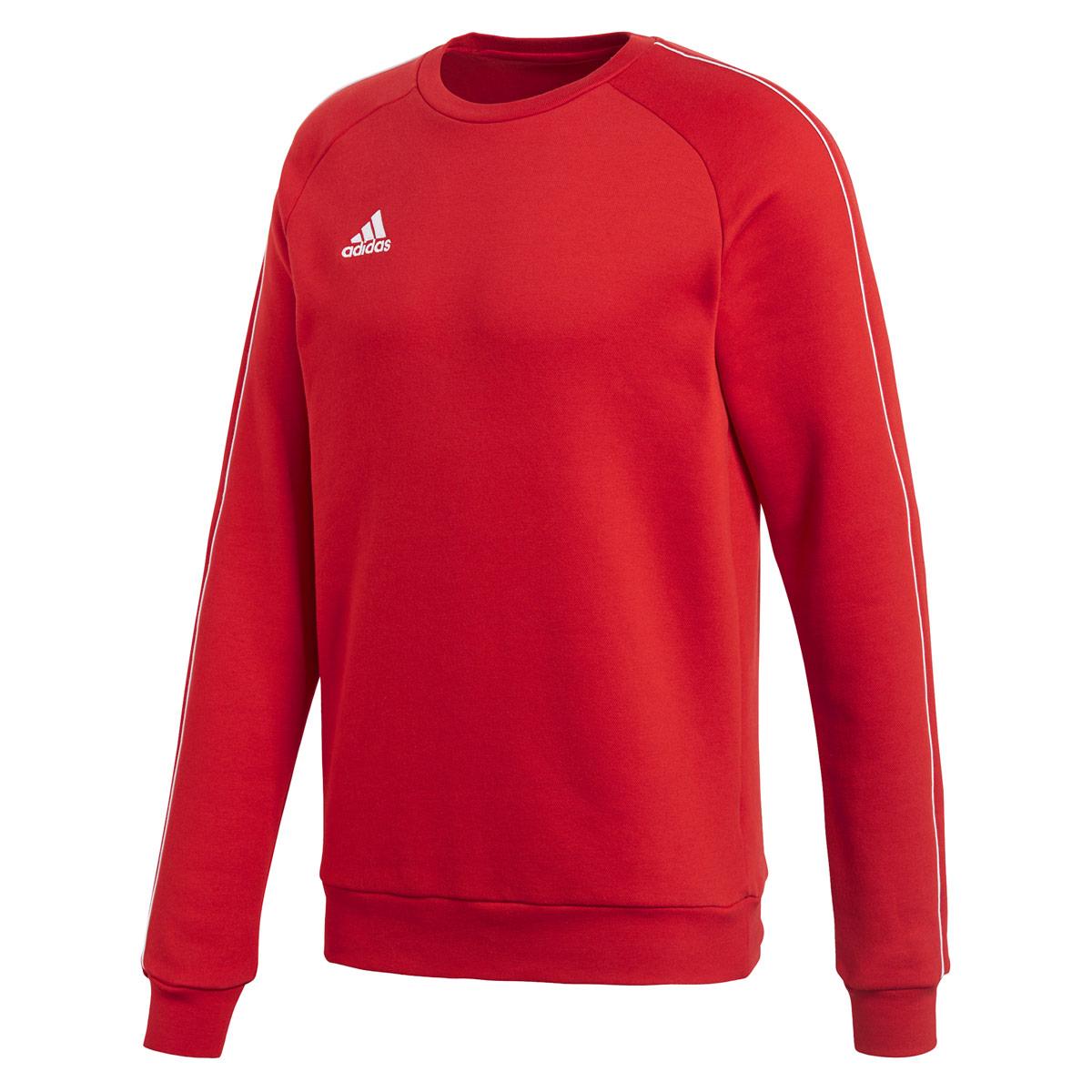 5860ee099d08 adidas Core 18 Sweatshirt - Sweatshirts   Hoodies for Men - Red