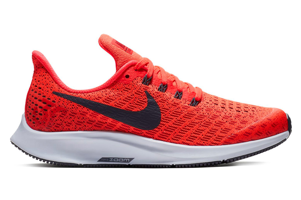 sports shoes 26304 1e098 Nike Air Zoom Pegasus 35 (GS) - Chaussures running - Rouge   21RUN
