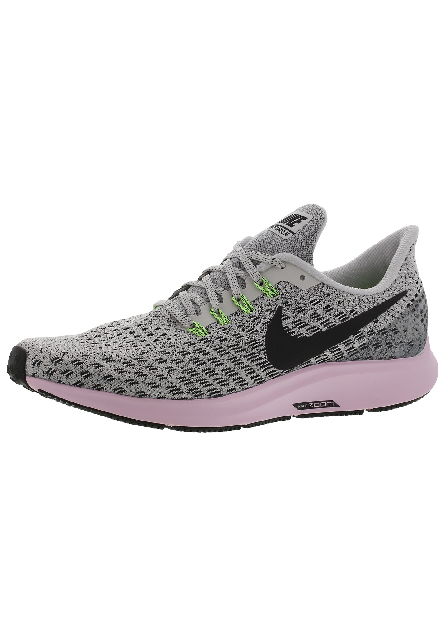 hot sale online 6d6bf acae8 Nike Air Zoom Pegasus 35 - Chaussures running pour Femme - Gris   21RUN