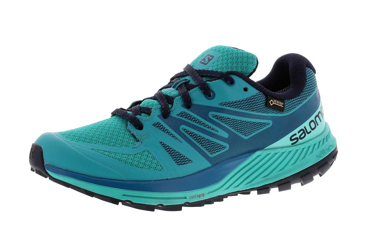 Sense 21run Femme Bleu Running Salomon Gtx Escape Chaussures Pour HOYdq8