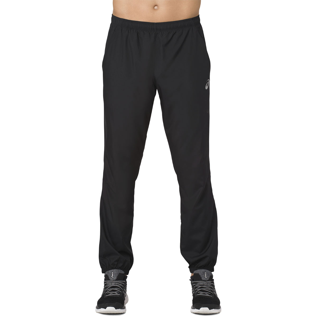 b4936b01ad ASICS Silver Woven Pant - Running trousers for Men - Black | 21RUN