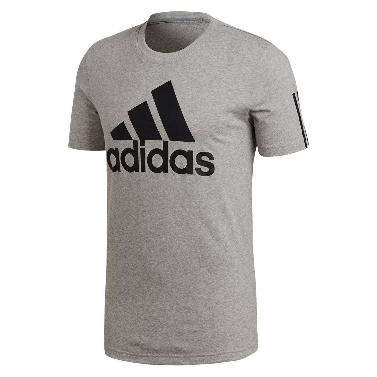 c7aeacc74c48d2 adidas Sport Id Logo Tee - Fitness tops for Men - Grey | 21RUN