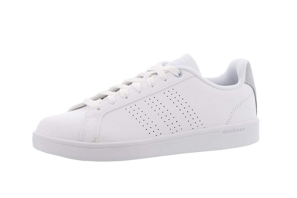meet aa8f3 fbe5b adidas neo Cloudfoam Advantage Clean - Baskets pour Femme - Blanc  21RUN