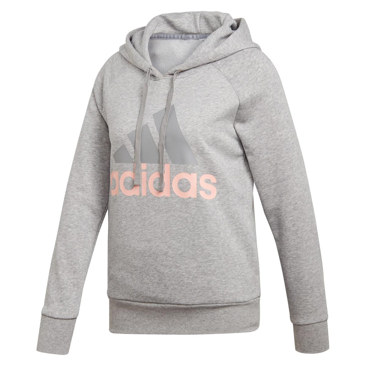 8a482fe9d3d4 adidas Essentials Linear Pullover Hoodie - Sweatshirts / Hoodies for Women  - Grey | 21RUN
