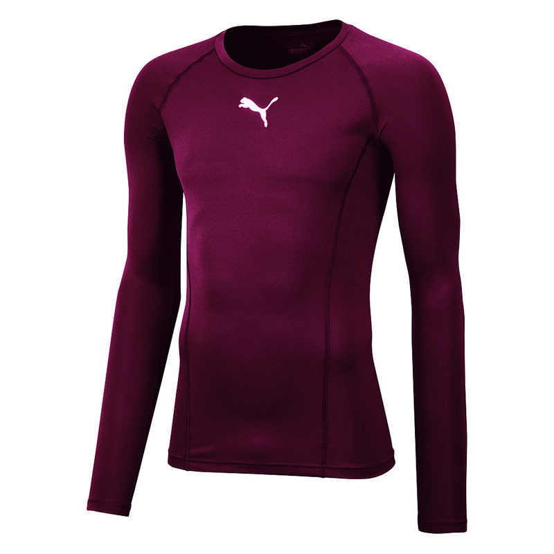 87504d3c092c Puma Liga Baselayer Tee Long Sleeve - Running tops for Men - Red | 21RUN