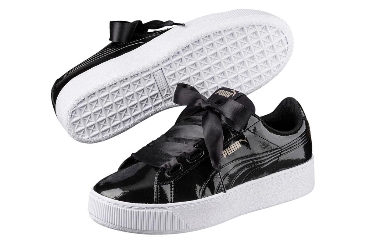 3e67e827dccc20 Puma Vikky Platform Ribbon P - Sneaker for Women - Black