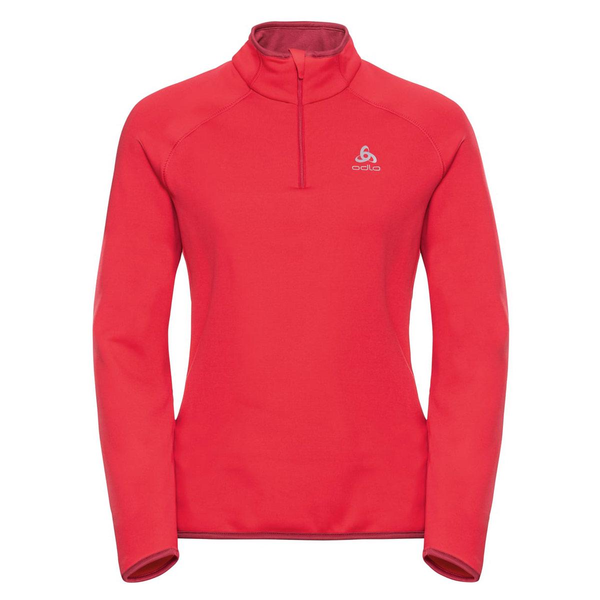 625ea38a0 Odlo Midlayer 1 2 Zip Carve Warm - Running tops for Women - Pink