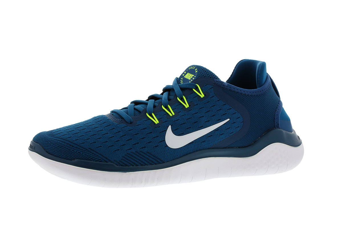 Nike Free RN 2018 Chaussures running pour Homme Bleu