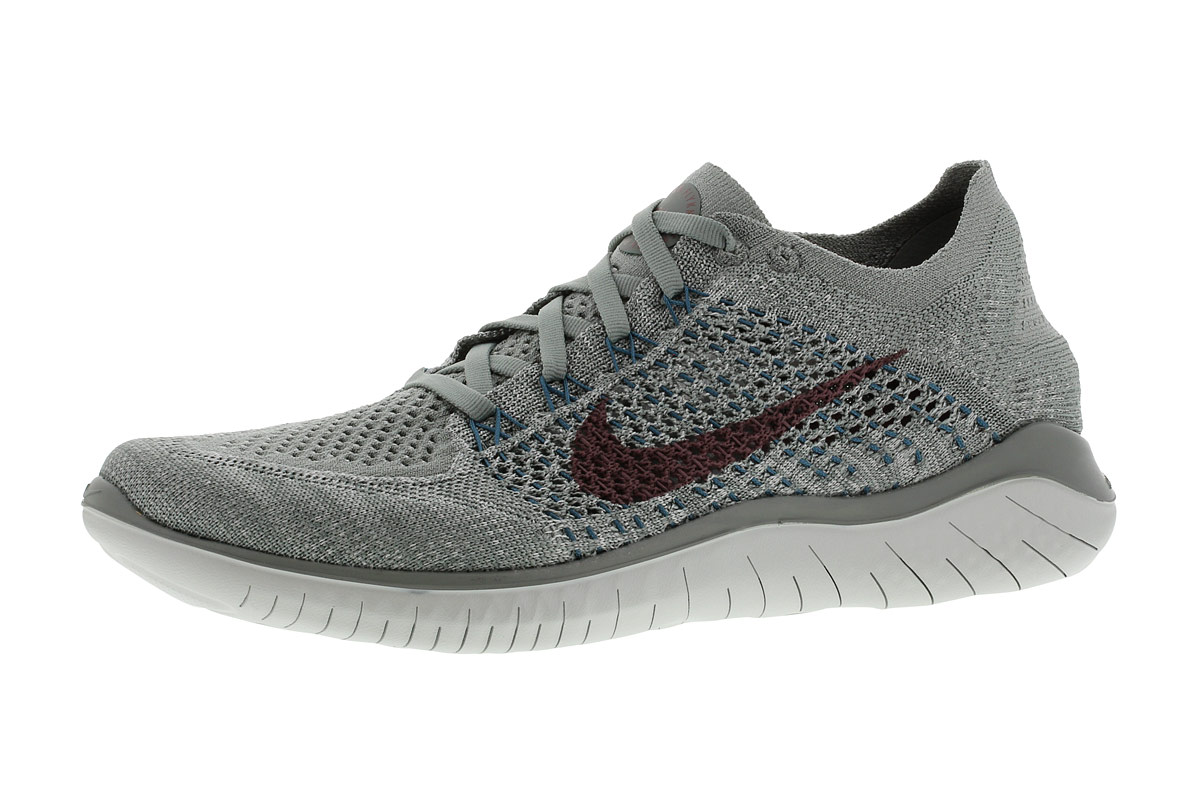 Nike Free RN Flyknit 2018 - Running shoes for Women - Grey