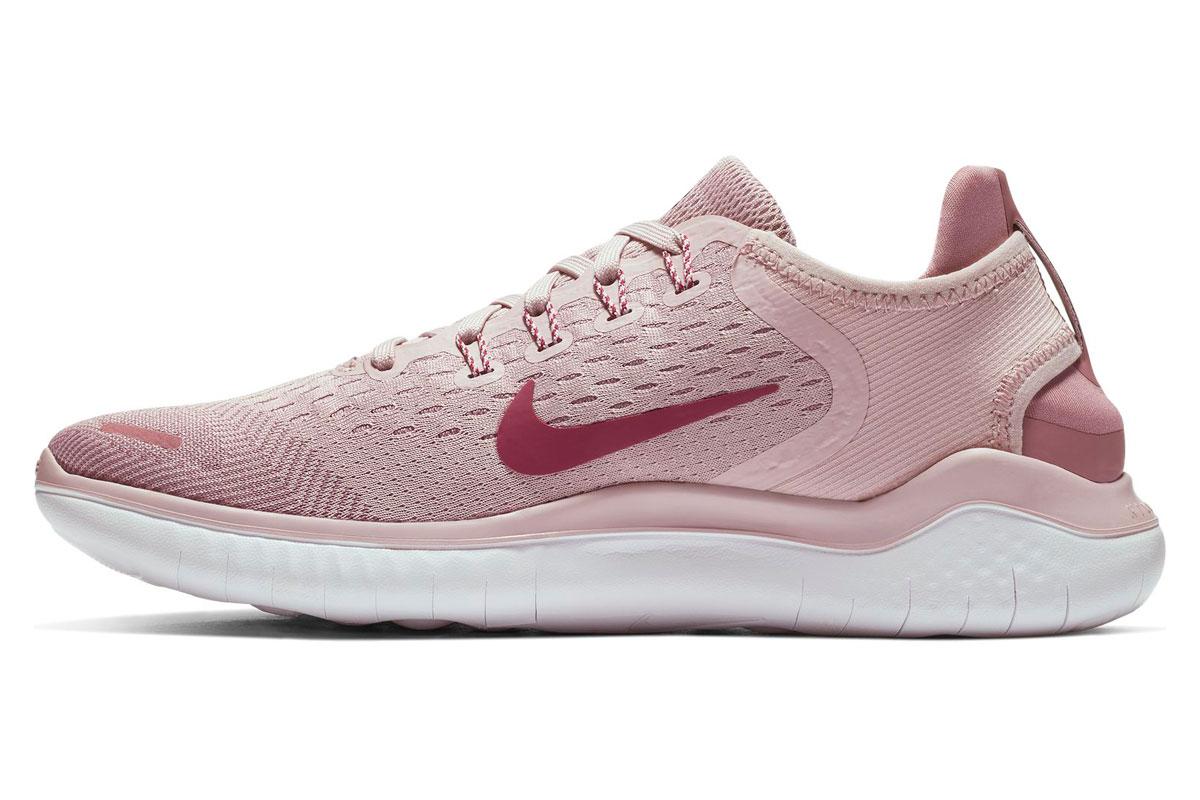 Nike Free RN 2018 Laufschuhe für Damen Pink