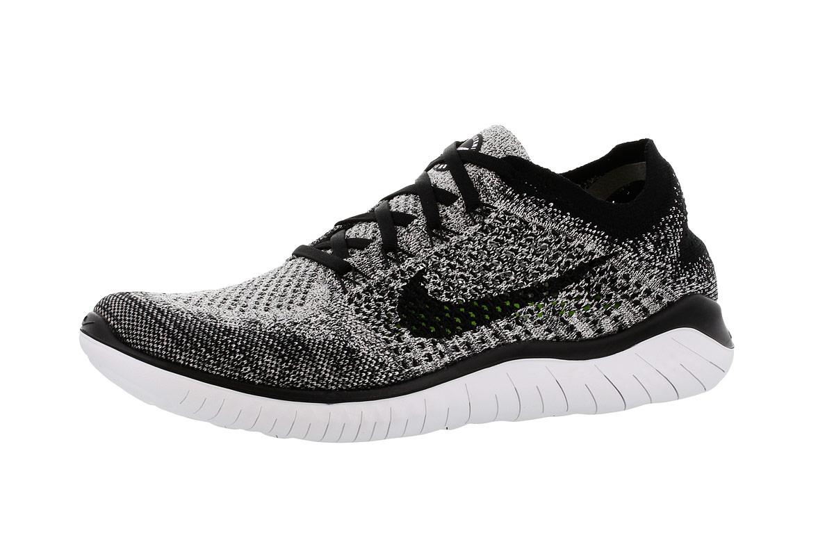 Nike Free RN Flyknit 2018 - Running shoes for Men - Black