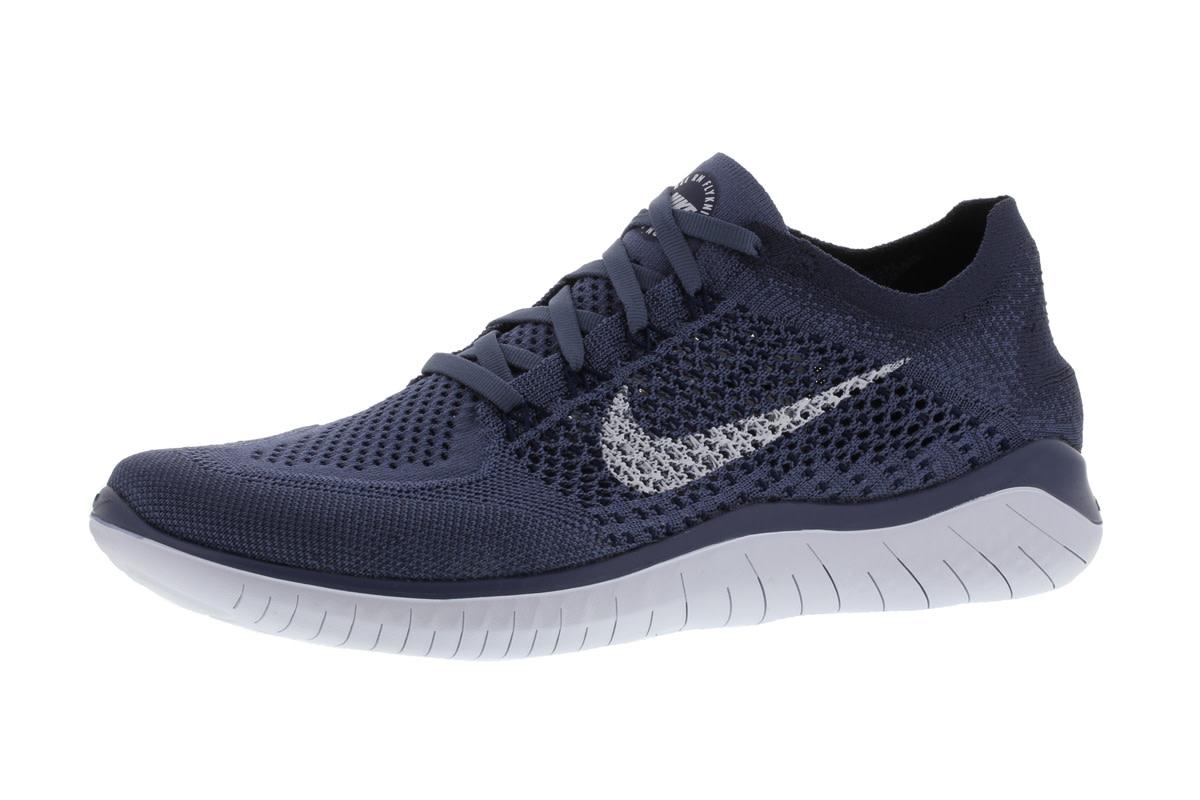 Nike Free RN Flyknit 2018 - Laufschuhe für Herren - Blau