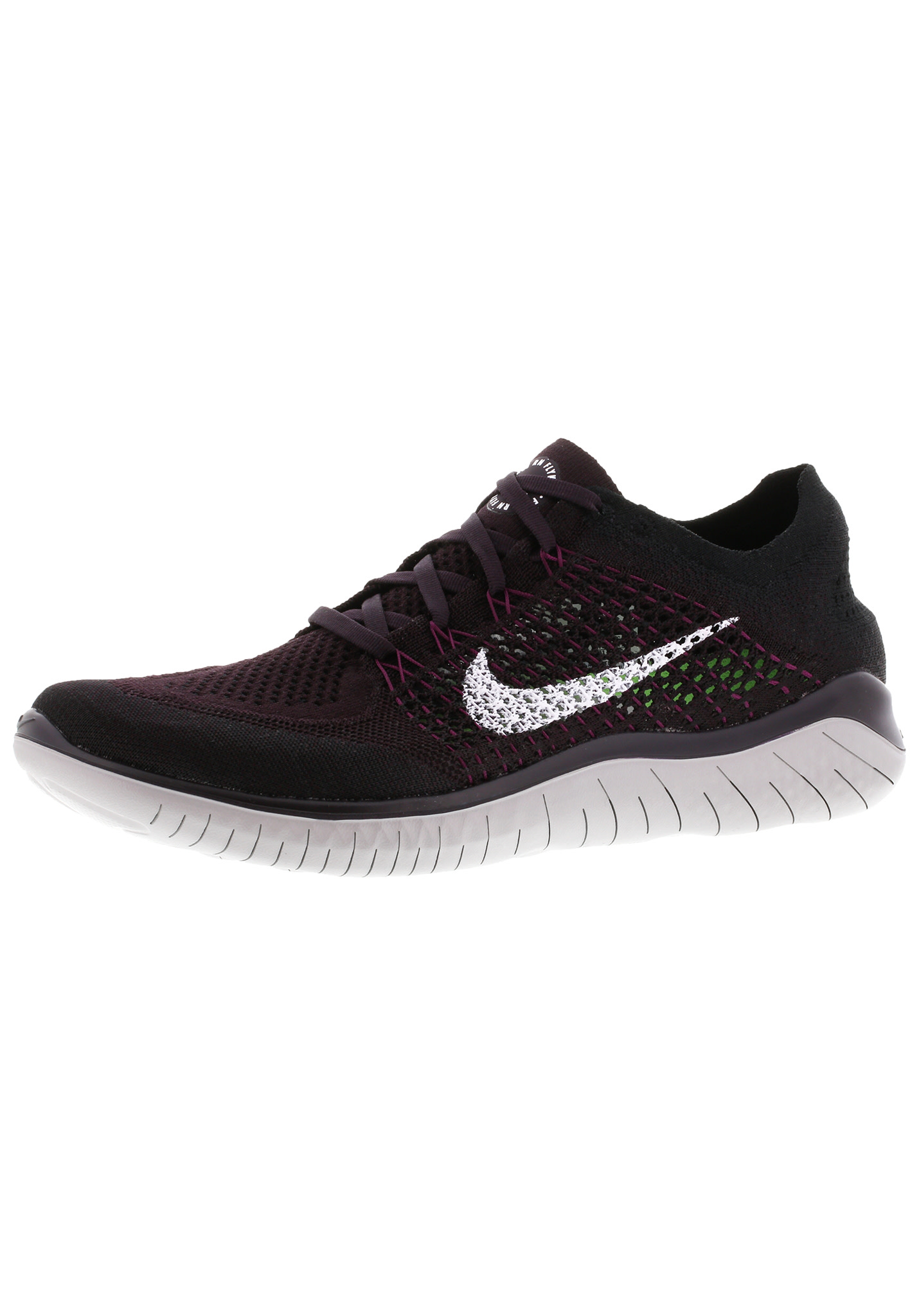 buy online 4ca3e 095f6 Nike Free RN Flyknit 2018 - Running shoes for Men - Black