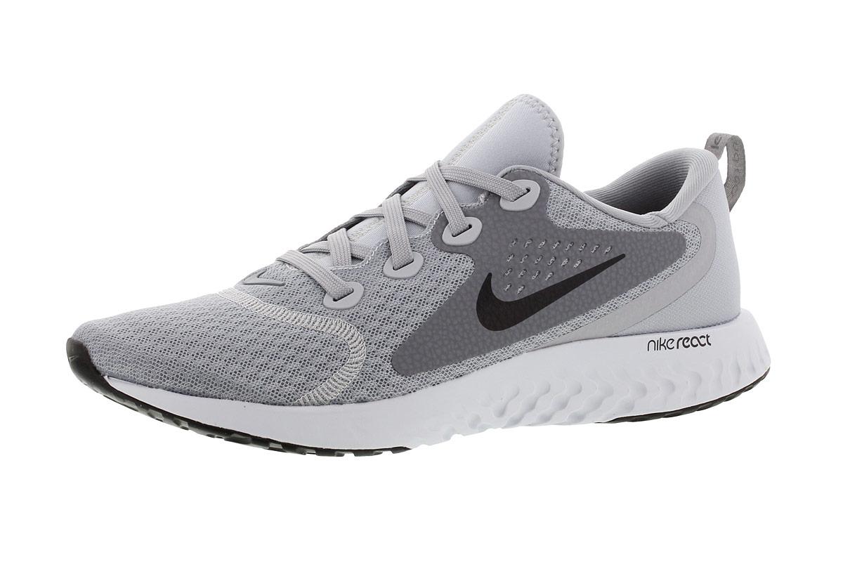 Nike Legend React Laufschuhe für Damen Grau   21RUN Einzigartig