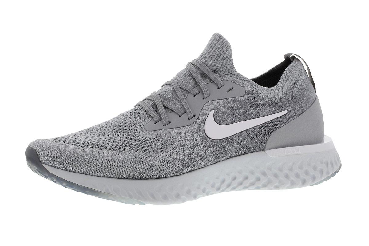 Nike Epic React Flyknit - Laufschuhe für Damen - Grau
