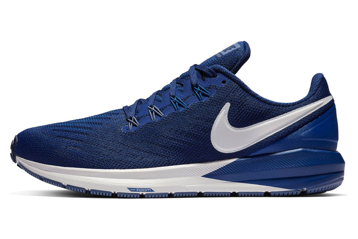 differently fe7bb bb5e6 Nike Air Zoom Structure 22 - Running shoes for Men - Blue