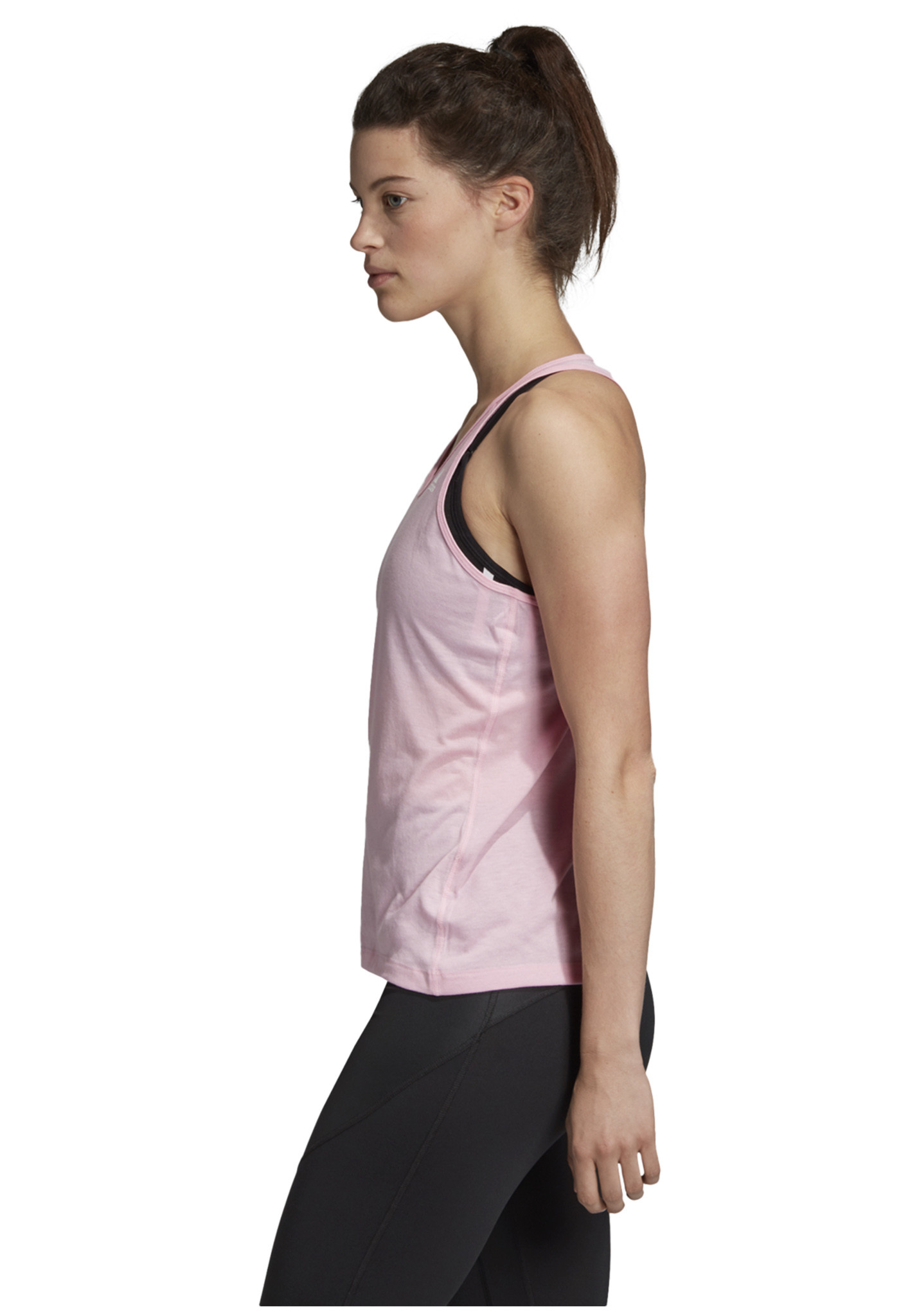 a479e4c2fec adidas Prime 3-Stripes Tank Top - Running tops for Women - Pink | 21RUN