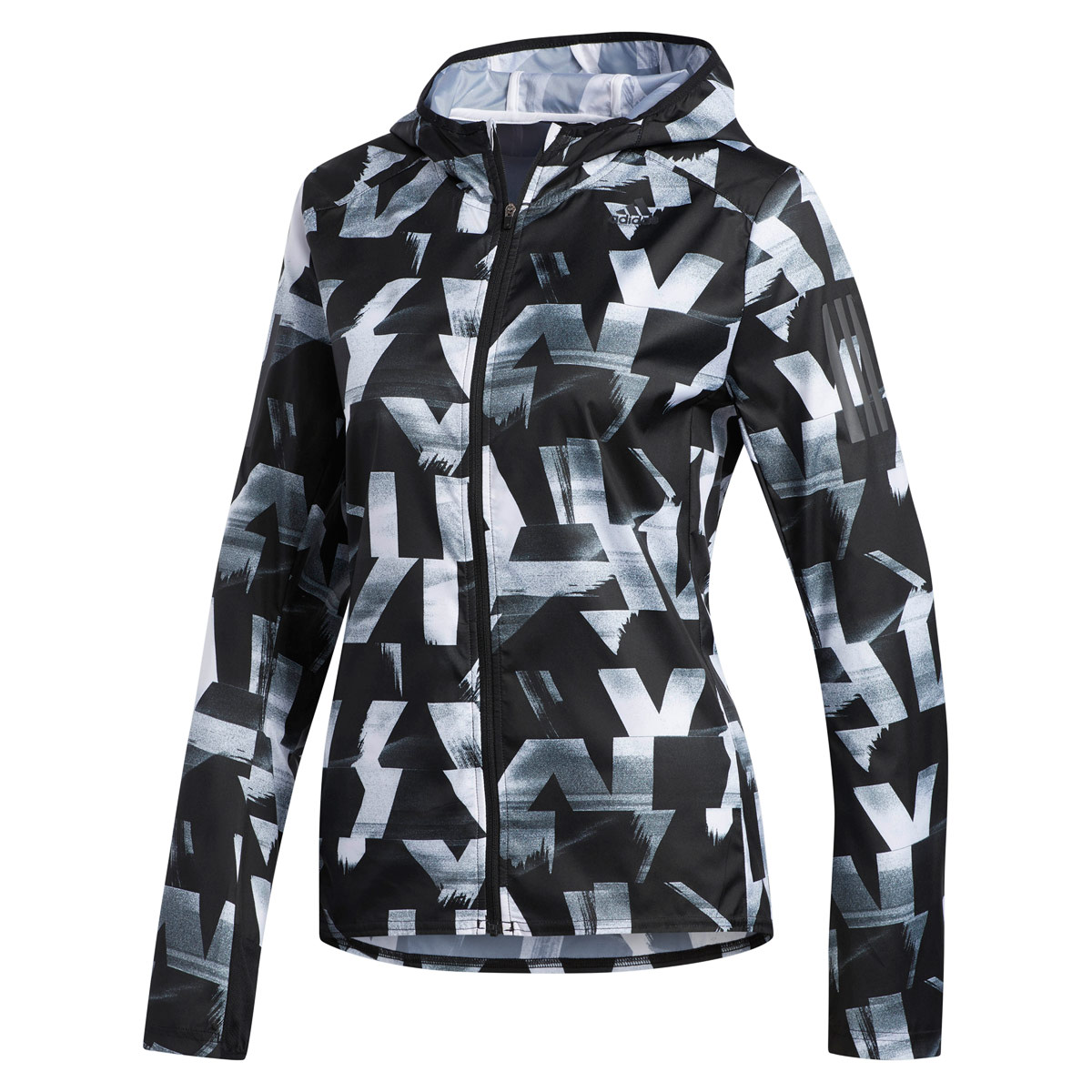 adidas Own the Run Speed Splits Jacket - Running jackets for Women - Black   fdc85bfc31