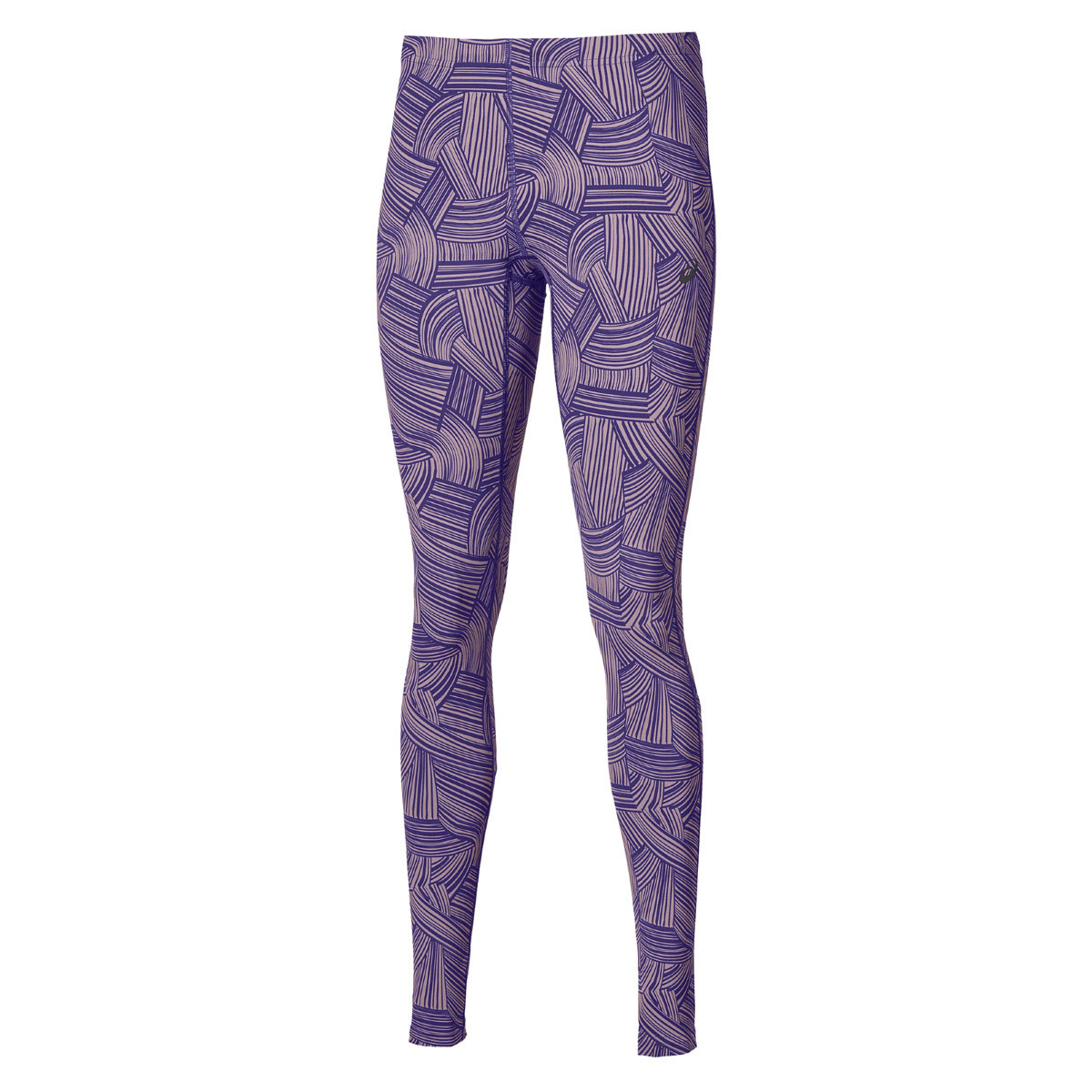 4111f3f19caa ASICS Graphic Tight - Running trousers for Women - Purple