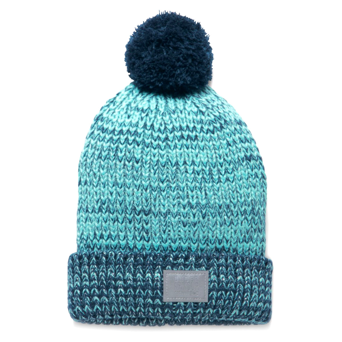 e547f1ec07c5c Under Armour Girls Shimmer Pom Beanie - Gorros - Azul