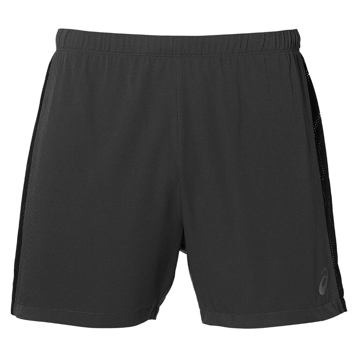 ASICS Race 5In Short Pantalons course pour Homme Noir
