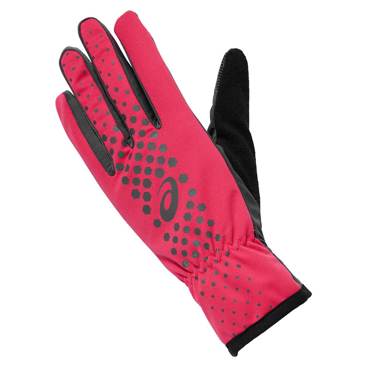 guantes running asics