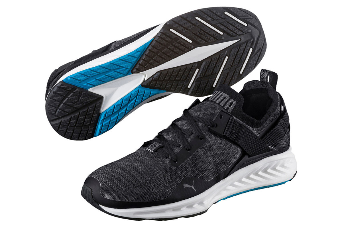 Low Chaussures Pour Running Ignite Evoknit Homme Noir Puma Tl1FJc3K
