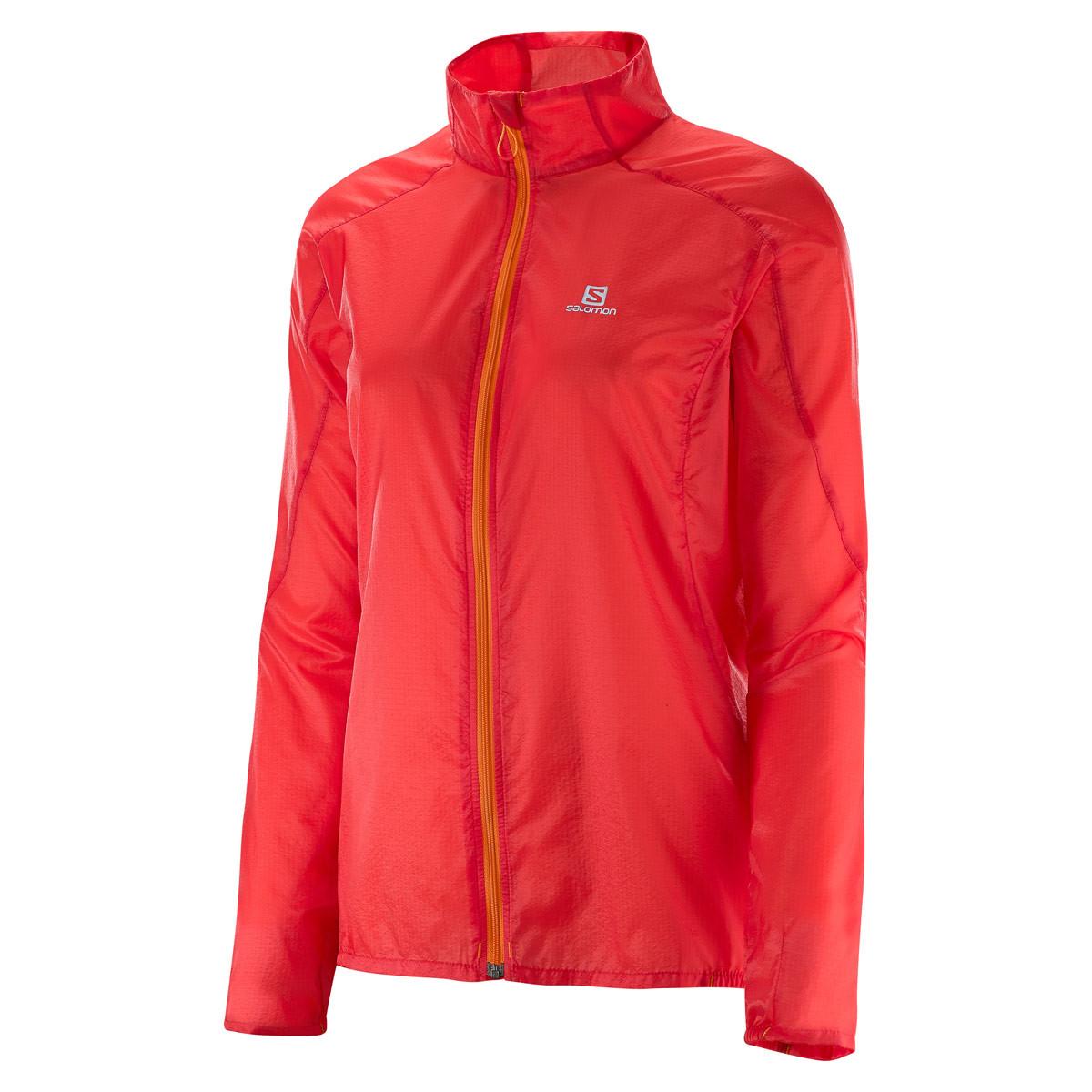Wing Para Mujer Rojo Fast Running Chaquetas De Jacket Salomon qwaWUx5RFa