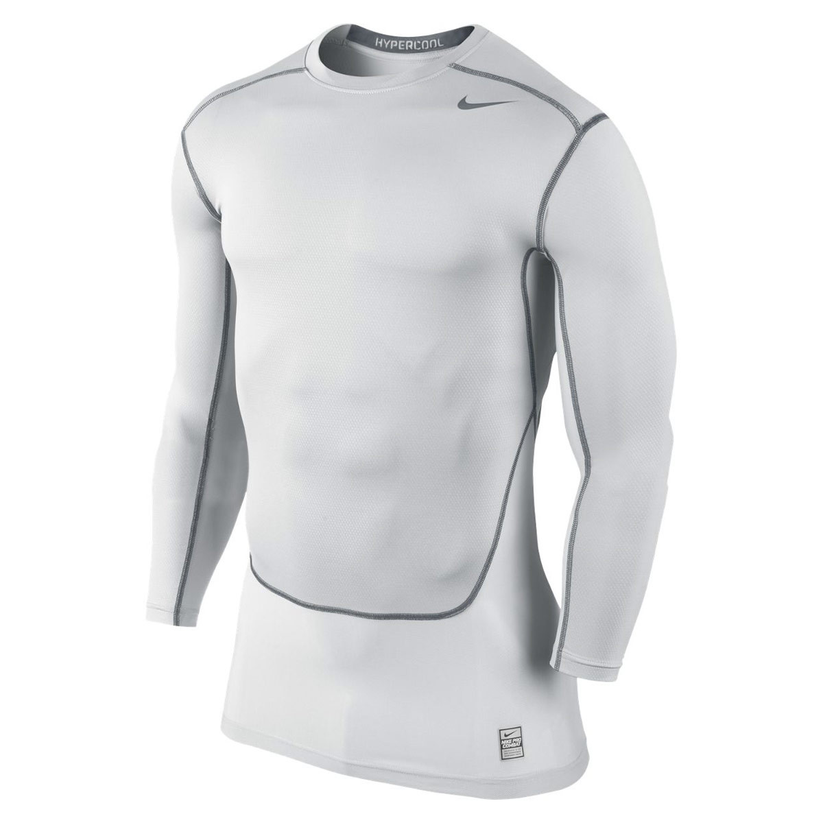 174e13ad Nike Pro Combat Hypercool Compression Long-Sleeve - Running tops for Men -  Grey | 21RUN