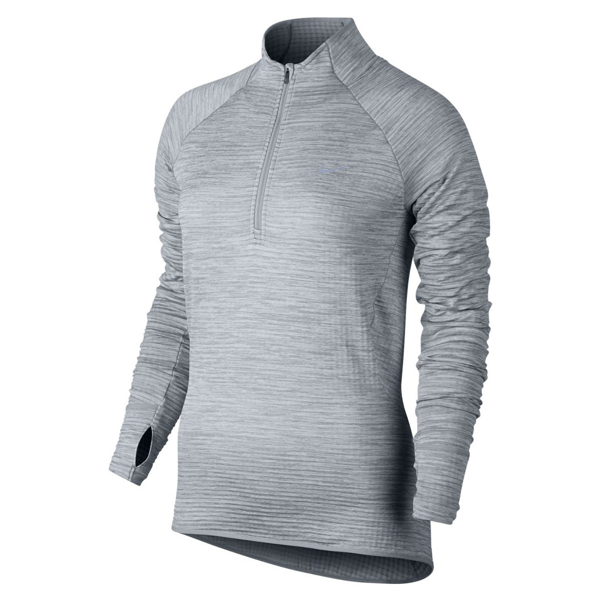 Nike Element Sphere Long Sleeve Half Zip - Laufshirts für Damen - Grau |  21RUN