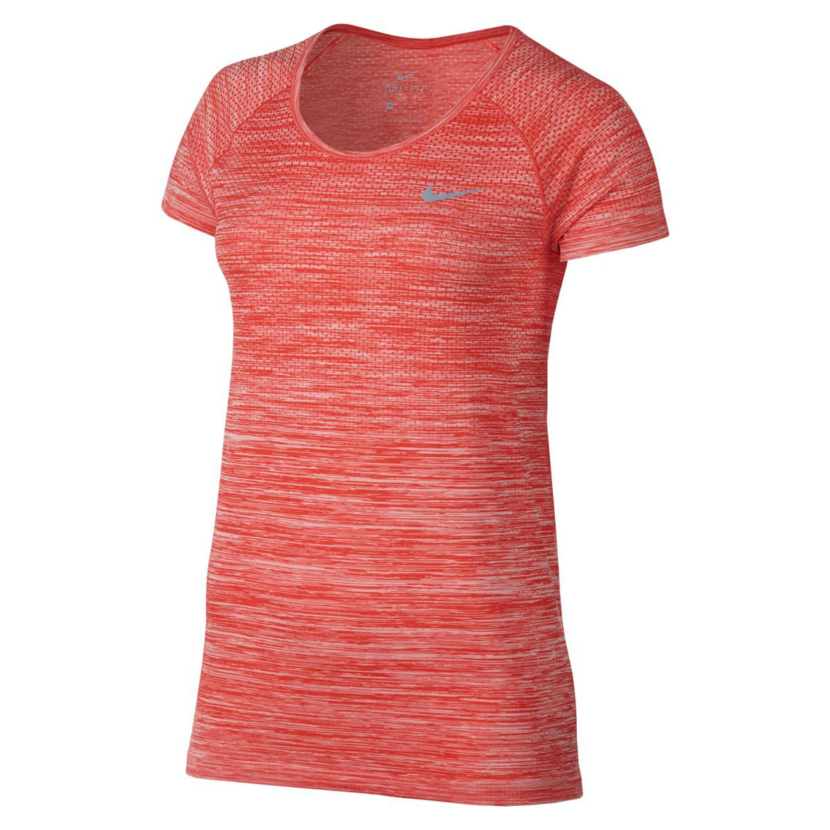 Nike Dri-Fit Knit Tee - Running tops for Women - Red  9f353d0e0