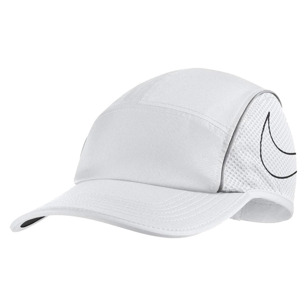 Nike AeroBill Running Cap - Headdress for Women - White  2da69c3a28a