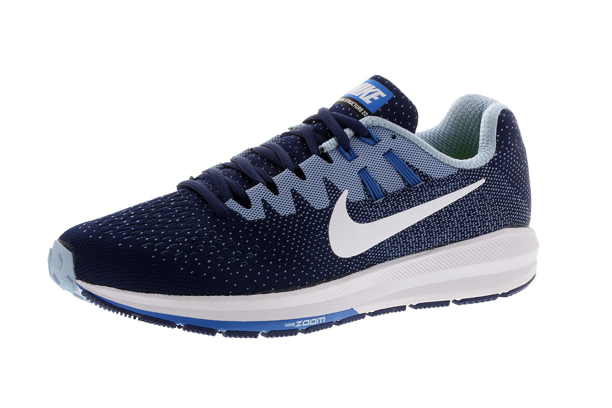 low priced 6dbf7 16c24 Nike Air Zoom Structure 20 - Running shoes for Women - Blue