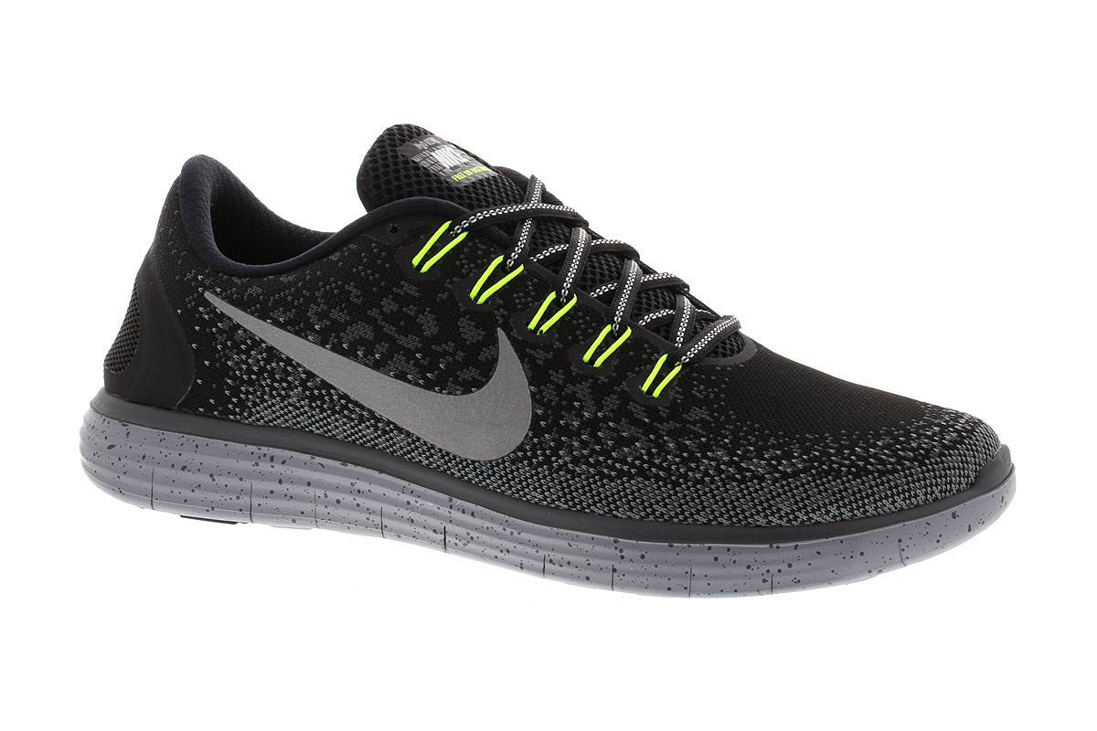 966d6fcbe392 ... 2 SHIELD Nike Free Run Distance Shield - Running shoes for Women -  Black 21RUN ...