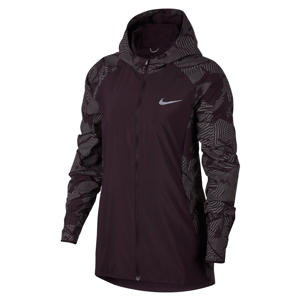 cbb50bfe4f59 Nike Essential Flash Running Jacket - Running jackets for Women - Brown