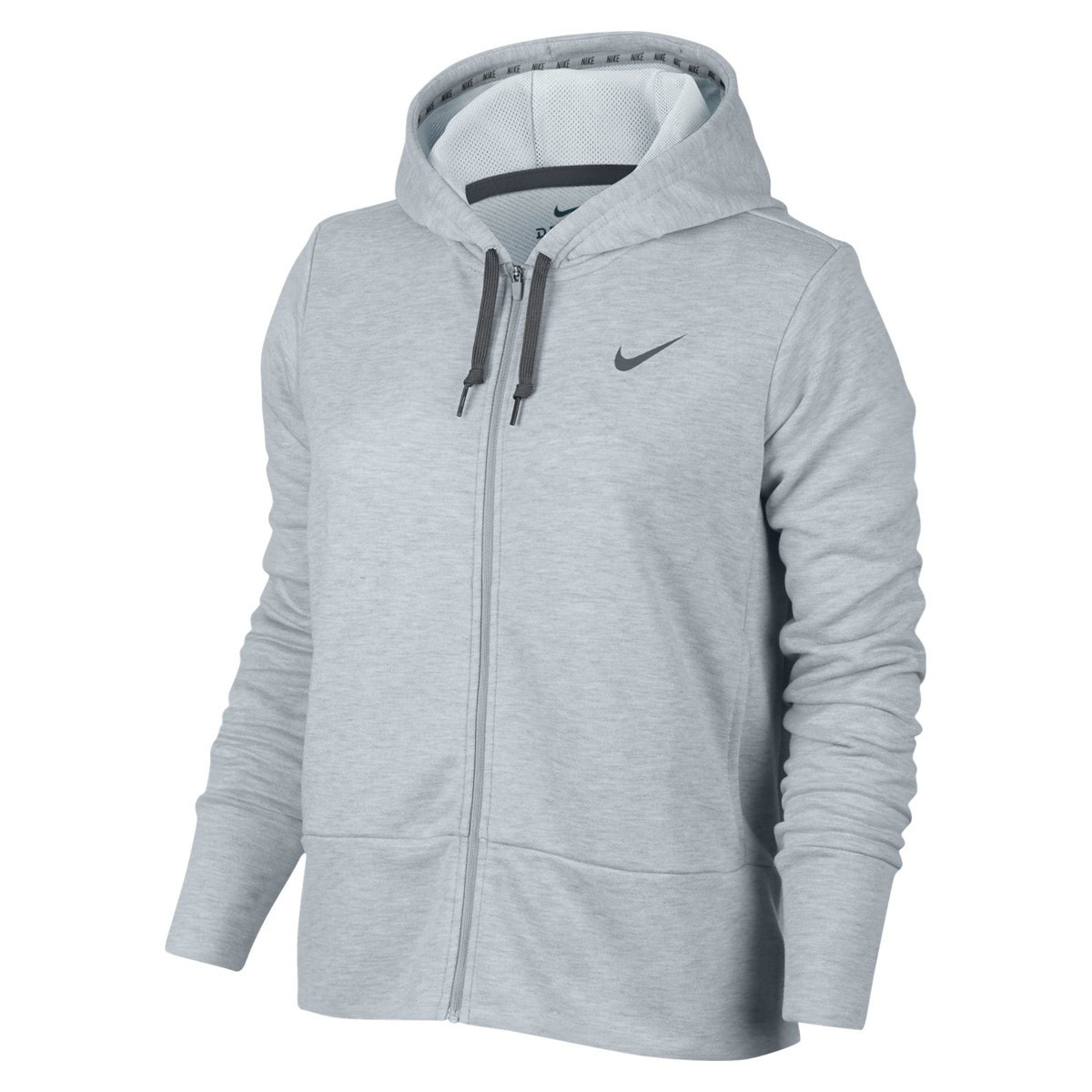 code promo 763fa 33d57 Femme Dry Training Pour Hoodie Sweats Pulls Nike Gris xBordCe