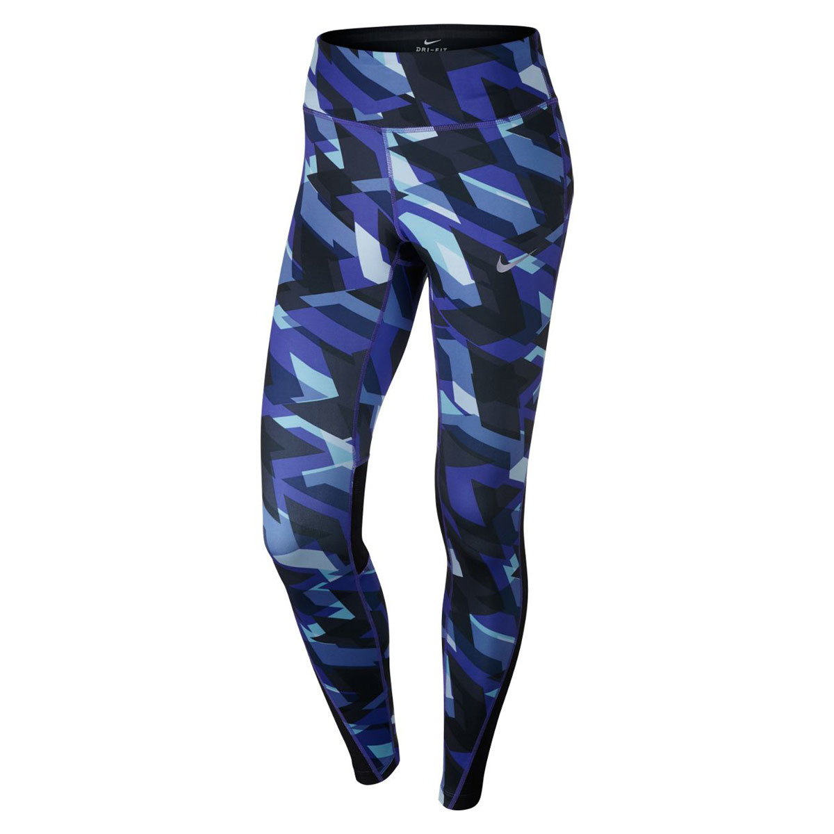 Nike Power Running Tight Pantalons course pour Femme Bleu