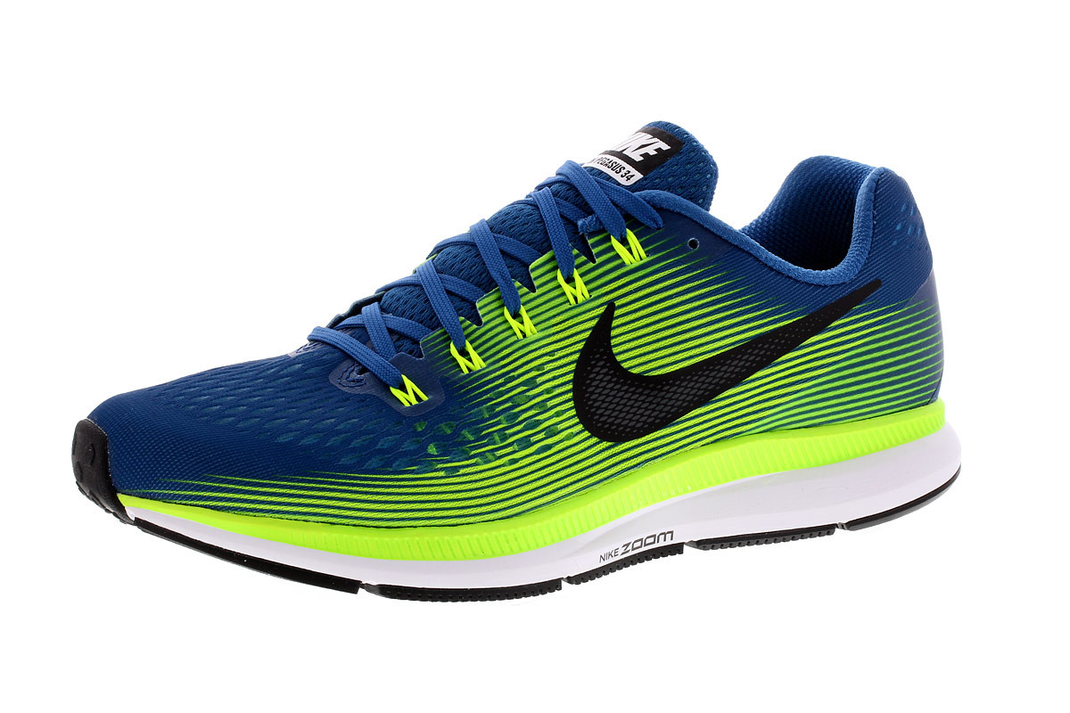 new product 74566 35ec7 Nike Air Zoom Pegasus 34 - Running shoes for Men - Blue   21RUN
