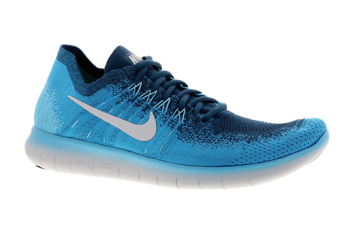Nike Free RN Flyknit 2017 - Laufschuhe für Herren - Blau
