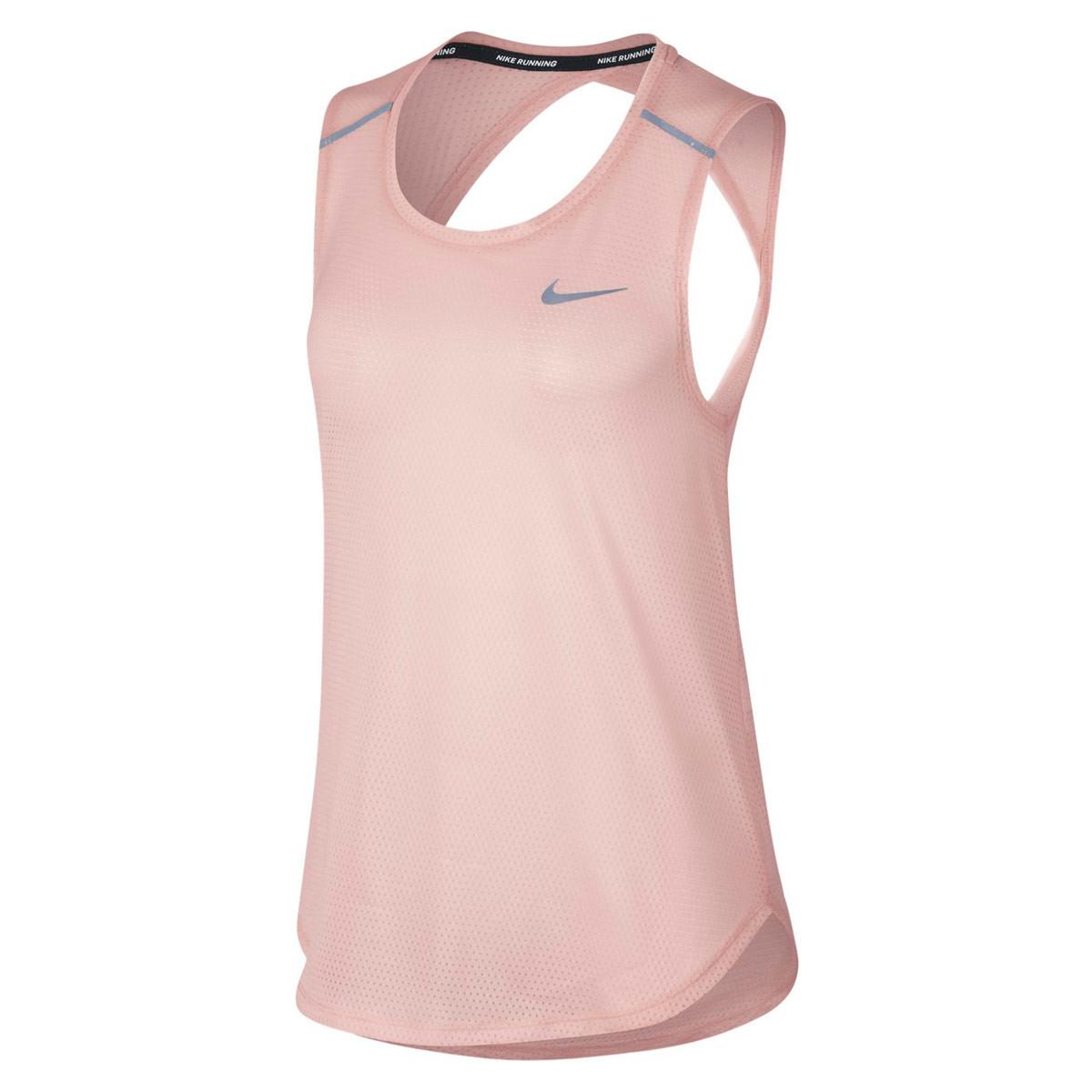 4c58bcc3e3008 Nike Breathe Running Tank - Running tops for Women - Pink