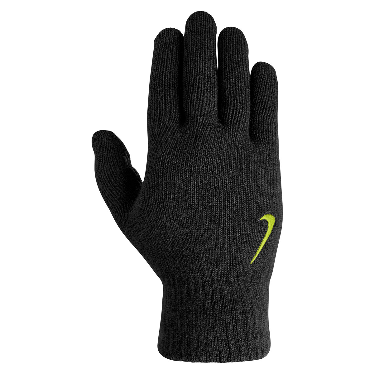 Nike Knitted Tech And Grip Gloves - Running gloves - Black