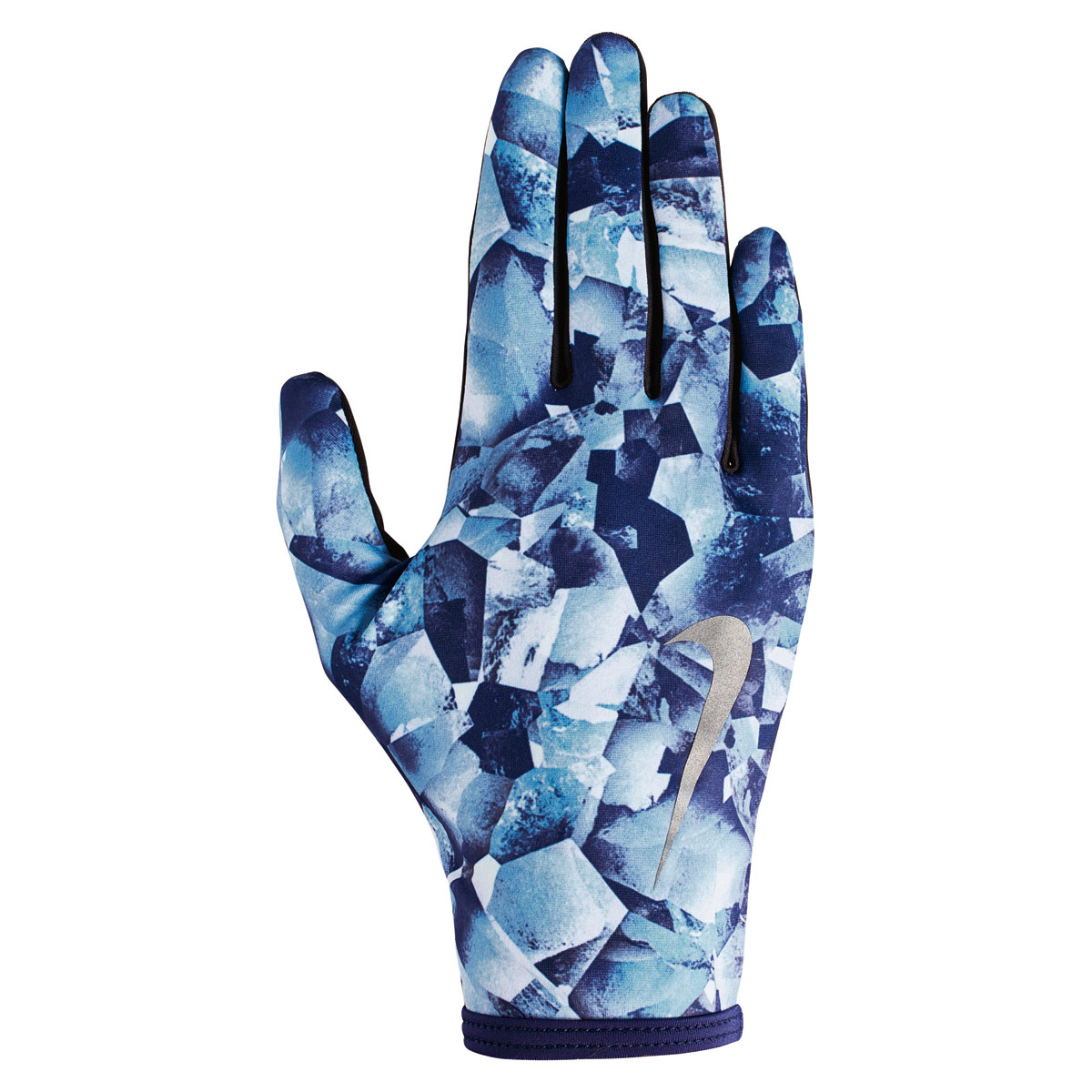 new arrival 2a5e6 971cc Nike Printed Lightweight Rival Run Gloves 2.0 - Running gloves for Women -  Blue   21RUN