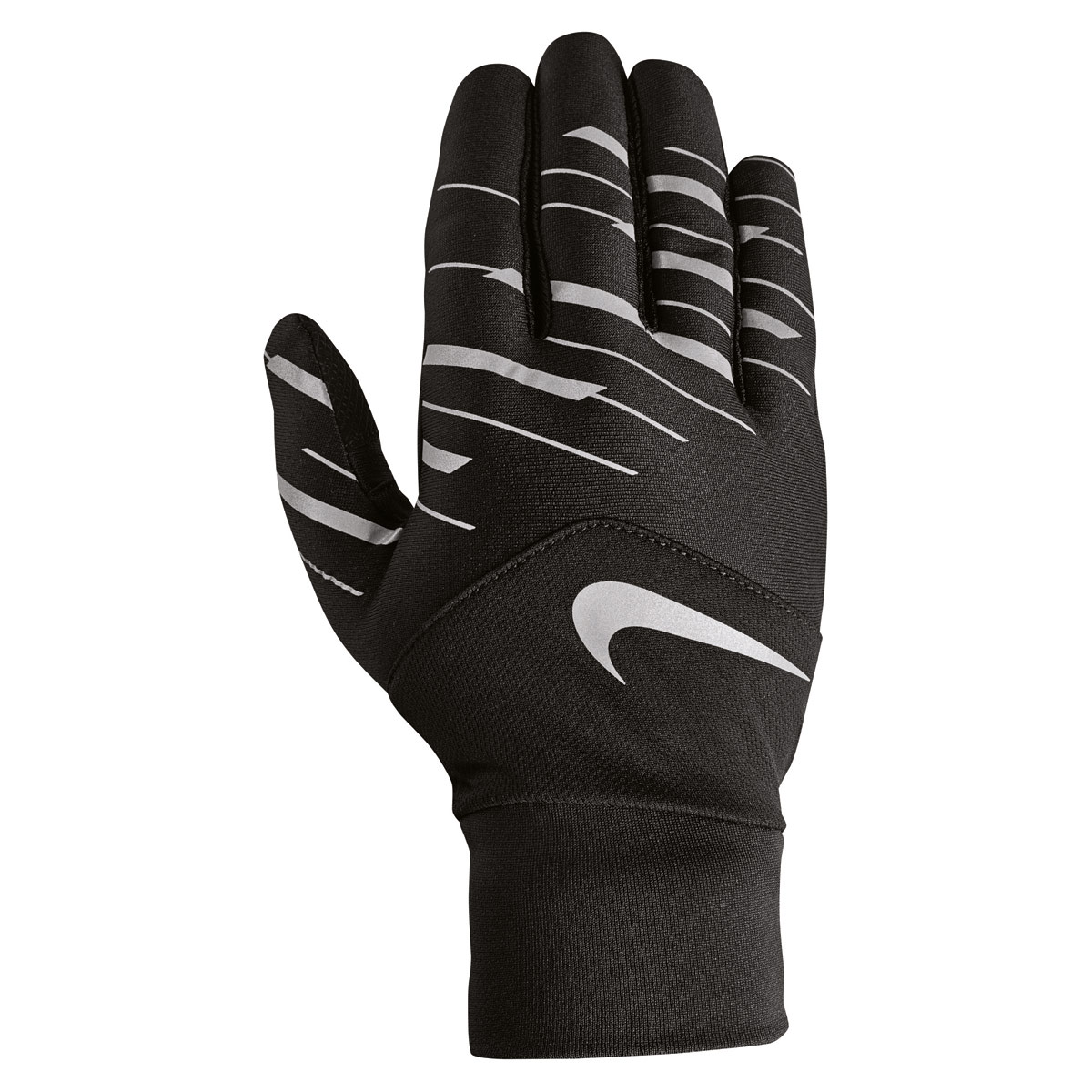 Nike Printed Dry Tempo 360 Flash Run Gloves - Running gloves for Men - Black