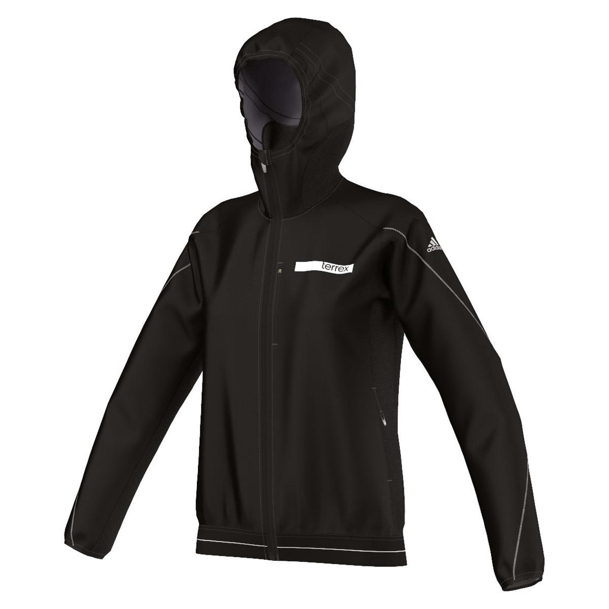 39eab12a5848 adidas Terrex Agravic Hybrid Softshell Jacket - Running jackets for Women -  Black   21RUN