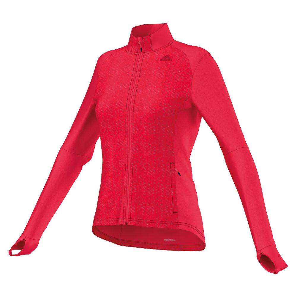 Adidas Supernova Storm veste de running pour femmes (rouge