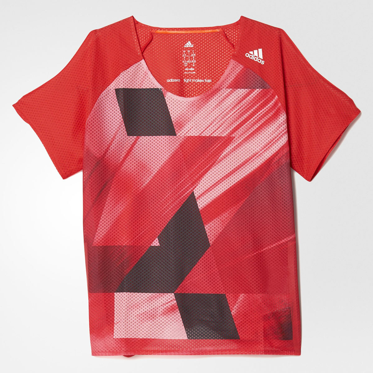71a36a859b3 adidas adizero Short Sleeve - Running tops for Women - Red | 21RUN