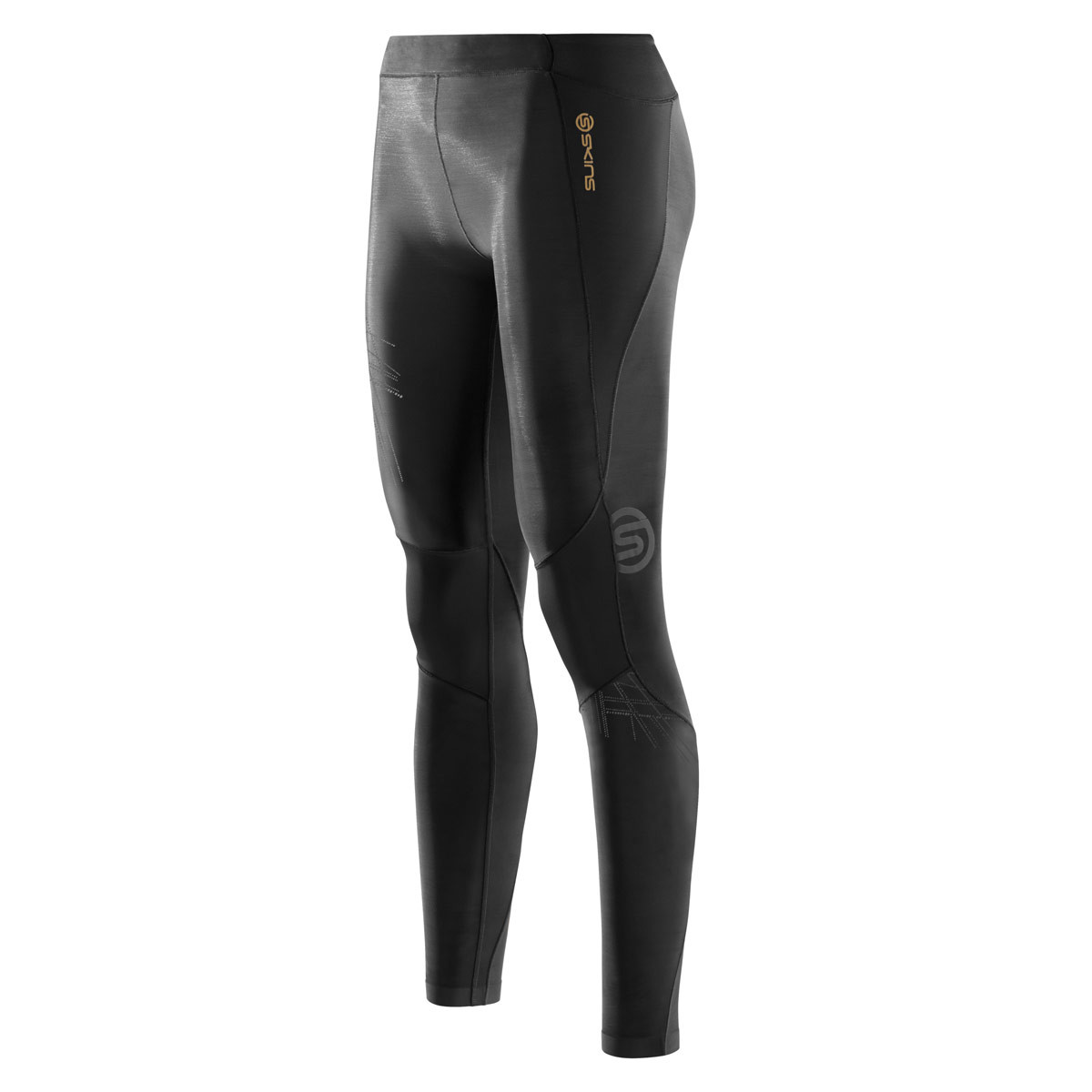 6af63e7aa9 Skins A400 Starlight Long Tights - Running trousers for Women - Black |  21RUN