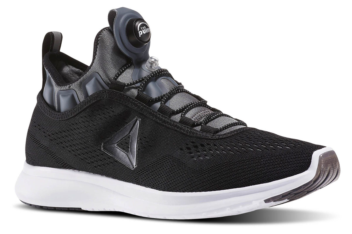 Reebok Pump Plus Tee - Running shoes for Men - Black  ee95bffcc