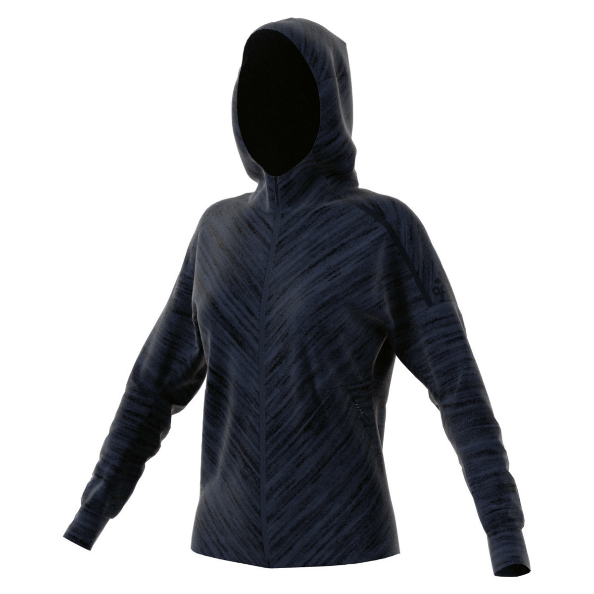 adidas ZNE Roadtr Hood - Sweatshirts   Hoodies for Women - Blue  845193209e